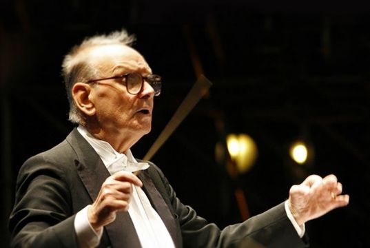 Ennio Morricone conducts four farewell concerts at Baths of Caracalla in Rome