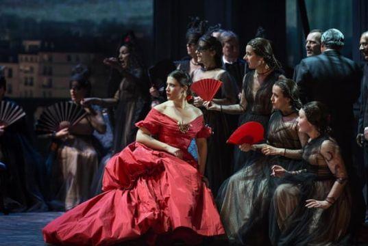 La Traviata at Rome opera house