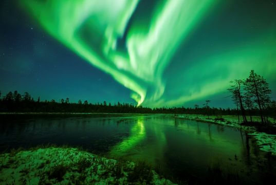 Northern Lights live-streamed in Rome