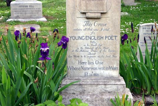 Rome's Romantic Poets: where to find the graves of Keats and Shelley