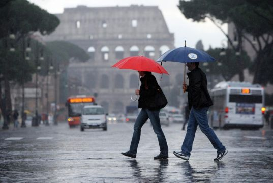 Rome weather alert for Easter Monday