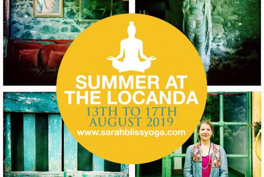 Summer yoga retreat- short and sweet