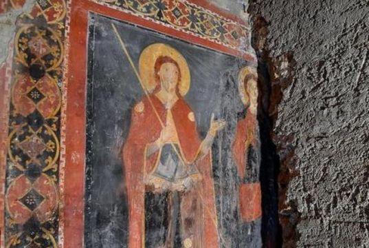 Rome discovers Mediaeval fresco hidden for 900 years