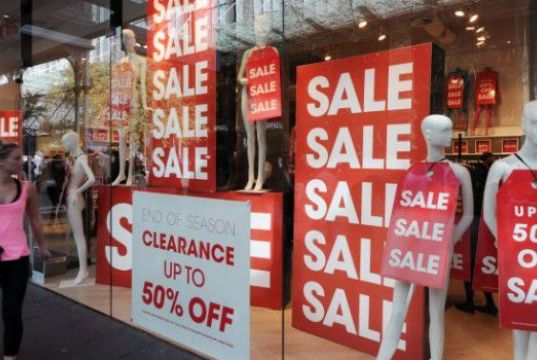Rome's summer sales begin on 6 July