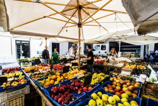 Top 10 food markets in Rome