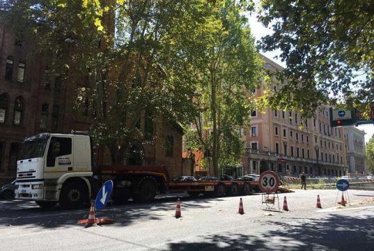 Road and metro works increase pace in Rome