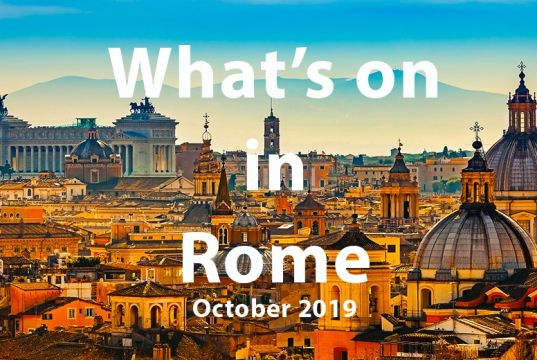 What to do in Rome in October 2019