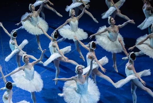 Swan Lake at Rome's Opera House