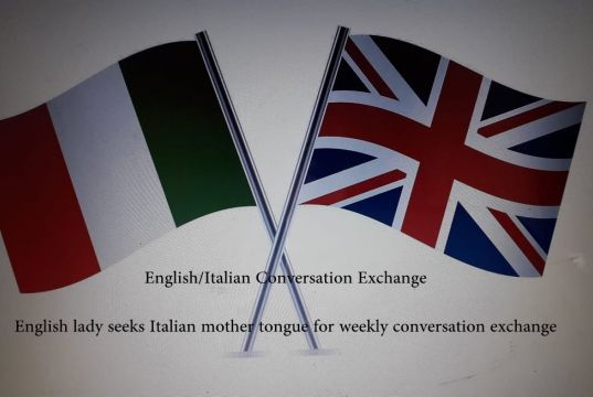 English/Italian Conversation Exchange