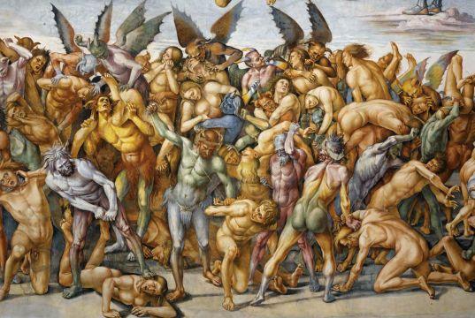 Signorelli's beautiful, terrifying frescoes in Orvieto