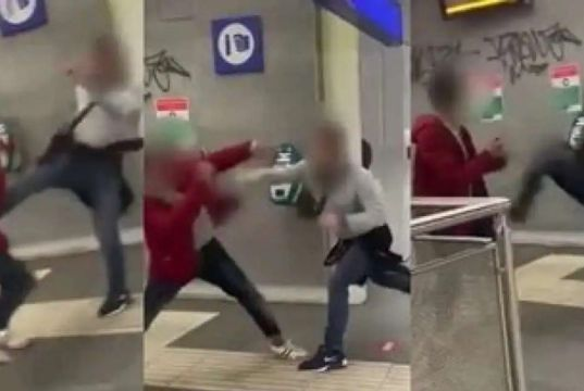 Italy's politicians condemn attack on gay men in Rome metro station
