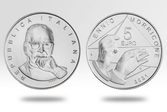 Italy celebrates Ennio Morricone with new coin
