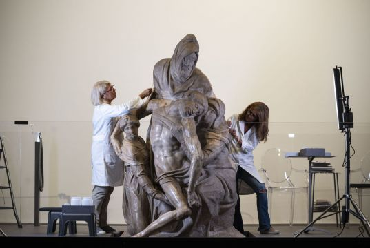 Florence restores Michelangelo's Bandini Pietà