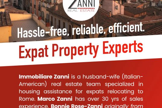 Do you need help in finding a home in Rome?