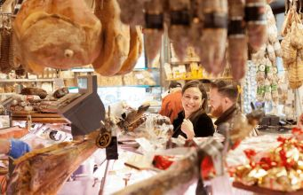 Volpetti: gourmet food shop in Testaccio