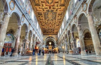 Basilica of Santa Maria in Aracoeli in Rome