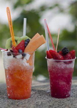 Grattachecca: Rome's ice-cool summer drink