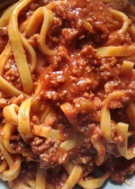 Rome recipe: pasta al ragù alla bolognese