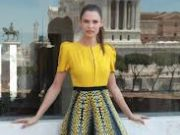 Bianca Balti. Scenes from a fashion fairy tale