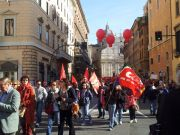 Day of strikes and protests in Rome