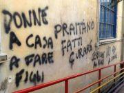 Anti-gay graffiti in Rome