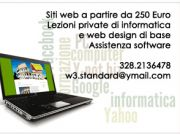 Websites, computer tutor, assistance in Rome