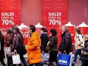 Sales season in Rome