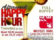 Rome expats international after-work happy hour