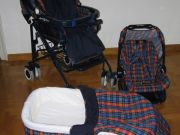 3-set pushchair for sale