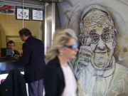 Street art in Spagna metro station