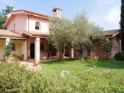Tuscany Style Home Surrounded by Lush Gardens.