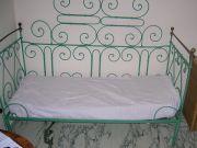 Old wrought Iron Garden Sofa