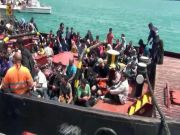 Thousands of illegal immigrants saved in Italian waters