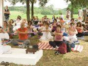 Yoga festival in Rome