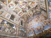 Newly-lit Sistine Chapel unveiled in Rome