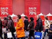January sales in Rome