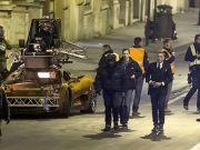 James Bond closes Rome streets
