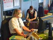 Fiumicino airport fire causes health problems