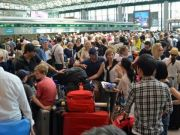 Commuter chaos at Rome's Fiumicino airport