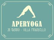 AperYoga @Villa Pirandello June 26th, 7pm