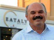 Eataly founder Oscar Farinetti at Rome's MAXXI