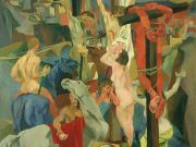 Rome painting: Crucifixion by Renato Guttuso