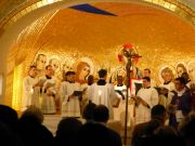 Advent liturgy and Christmas carols at Irish College