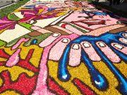 Genzano flower festival near Rome