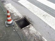 Rome manhole covers stolen for scrap