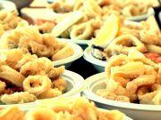 Fish festival in Fiumicino