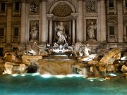 Fendi celebrates 90th birthday at Trevi Fountain