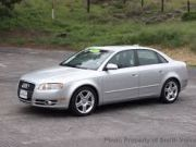 Beautiful Audi car A4 2005
