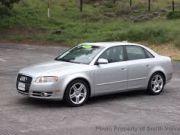 Beautiful Audi car A4 2005