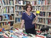 Book sale at S. Susanna Library